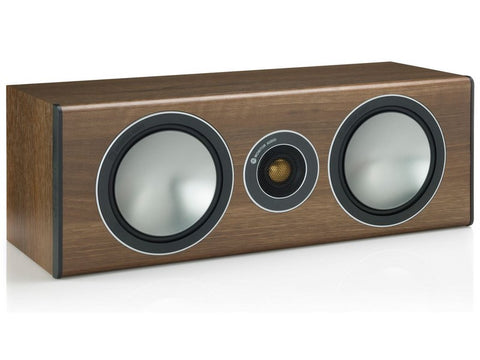 Bronze Centre Speaker Walnut