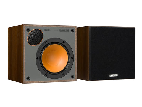 Monitor 50 Speaker Pair Walnut Vinyl