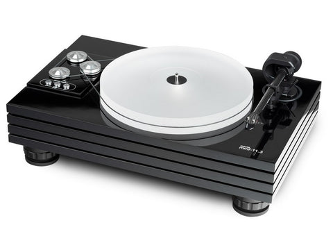 MMF 11.3 Turntable Black with Ortofon Black Cadenza Cartridge