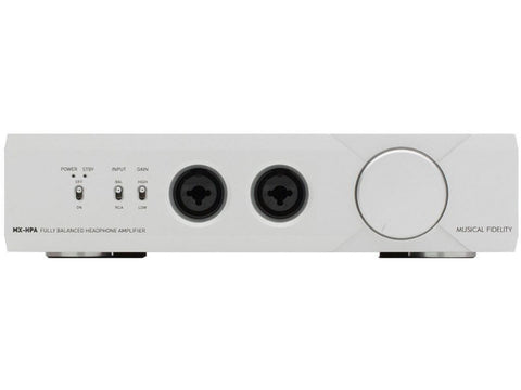 MX-HPA Balanced Headphone Amplifier Silver