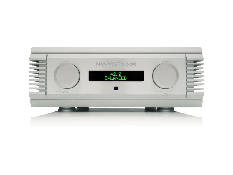 Nu-Vista 600: 200 Watt Integrated Amplifier Silver Floor Display Stock