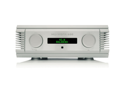 Nu-Vista 600: 200 Watt Integrated Amplifier Silver