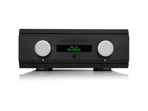Nu-Vista 600: 200 Watt Integrated Amplifier Black