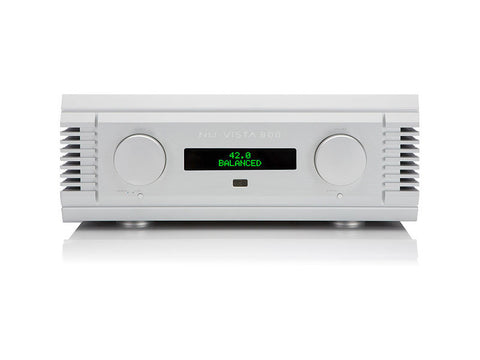 Nu-Vista 800: 300 Watt Integrated Amplifier Silver