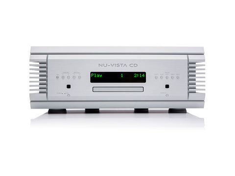 Nu Vista CD: CD Player Silver