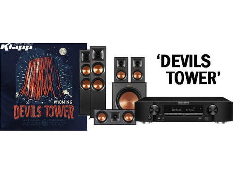 DEVILS TOWER Marantz Klipsch Home Theatre Pack