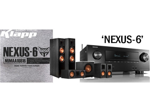 NEXUS-6 Klipsch Denon Home Theatre Pack