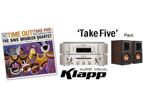 TAKE FIVE Marantz Klipsch Stereo Pack