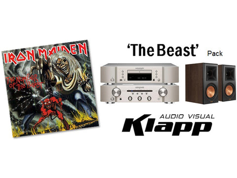 THE BEAST Marantz Klipsch Stereo Pack - Black Speakers