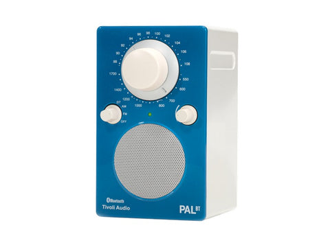 PAL BT Portable AM/FM Radio with Bluetooth Blue