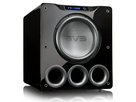 PB-4000 Subwoofer Piano Gloss Black