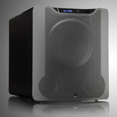 PB16-Ultra Subwoofer Black Oak Veneer