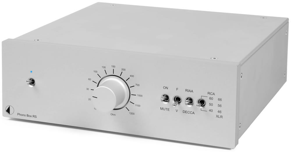 Phono Box RS Phono Preamplifier Silver