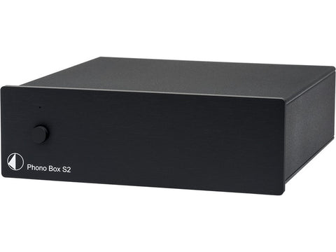 Phono Box S2 Phono Pre-amplifier Black
