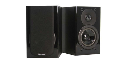 PICCOLO 4 - Black Bookshelf Speaker Pair