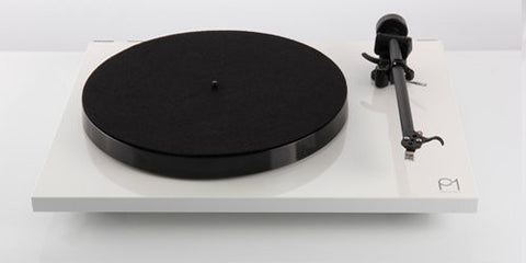 Planar 1 Turntable WHITE Performance Pack