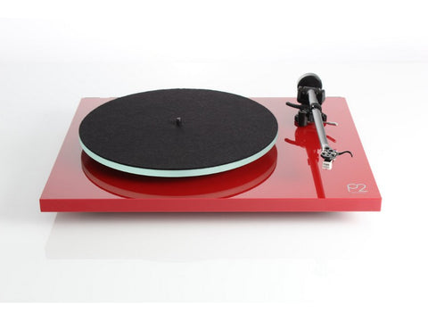 Planar 2 Turntable Gloss Red Performance Pack