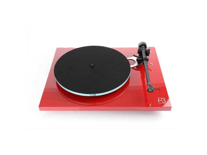 Planar 3 Turntable Gloss Red with Factory Fitted Elys 2 Cartridge