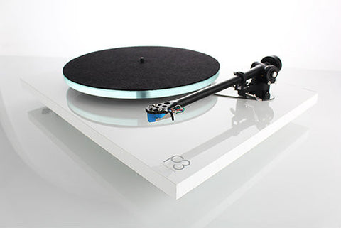 Planar 3 Turntable Gloss White with Factory Fitted with Elys 2 Cartridge