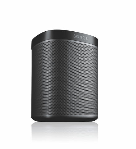 2 x PLAY:1 Wireless Smart Speakers - Black