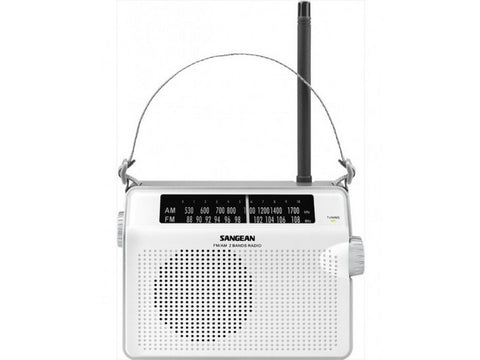 PR-D6 Portable Radio White