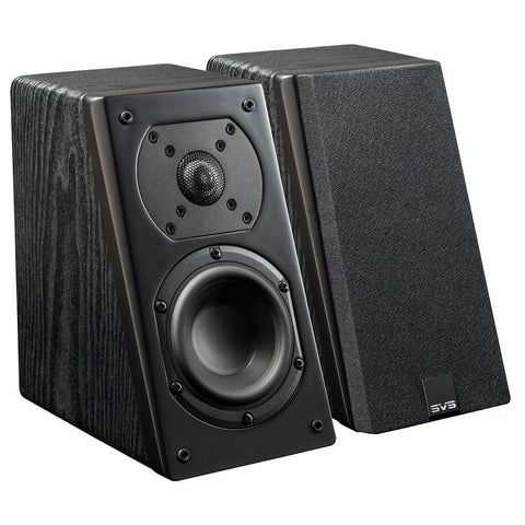 Prime Elevation Speaker Pair Black Ash