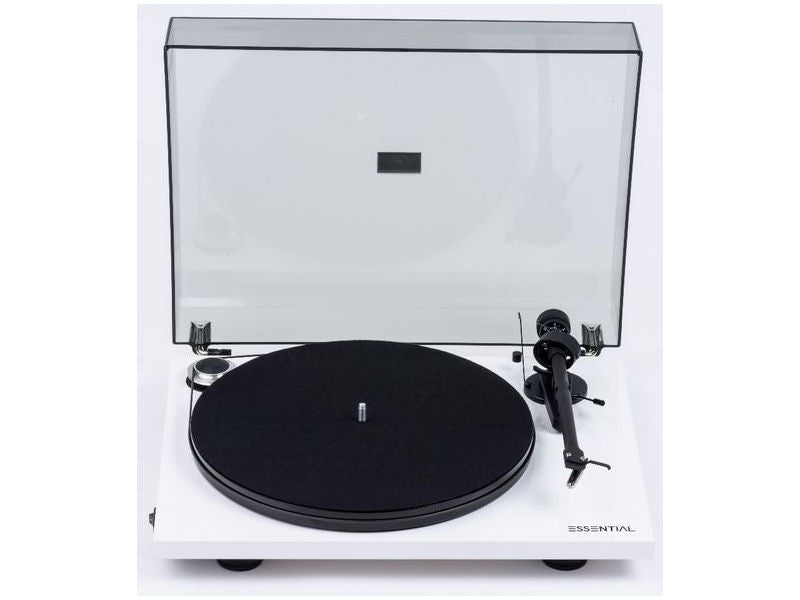 Essential III Turntable WHITE with Ortofon OM10 Cartridge