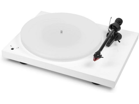 Debut Carbon Esprit SB Turntable White with Ortofon 2M Red Cartridge