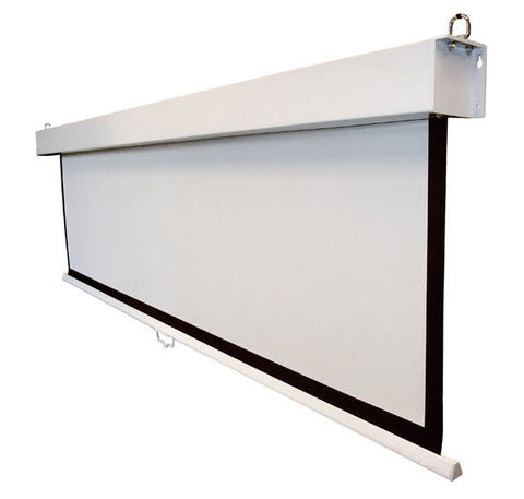 Pull Down Projector Screen 110""