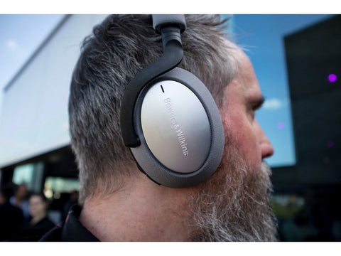 PX7 Over-ear Noise Cancelling Wireless Headphones Silver