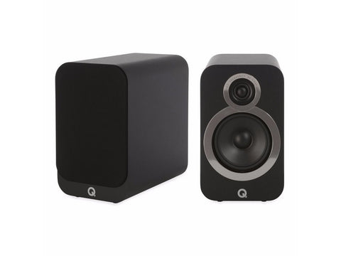 3020i Bookshelf Speaker Pair Black
