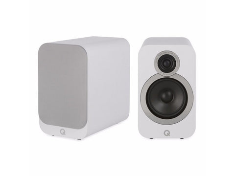 3020i Bookshelf Speaker Pair White
