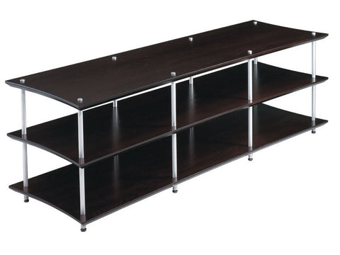 Single Wooden Shelf Only QAVM Audio Visual Rack