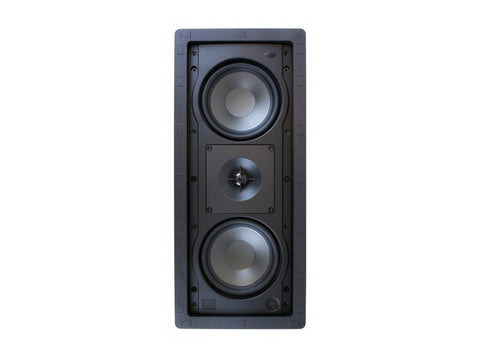 "R-2502-W II Dual 5.25"" In-Wall Speaker Single"