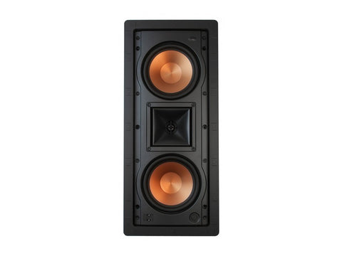 "R-5502-W II DUAL 5.25"" In-Wall Speaker Single"