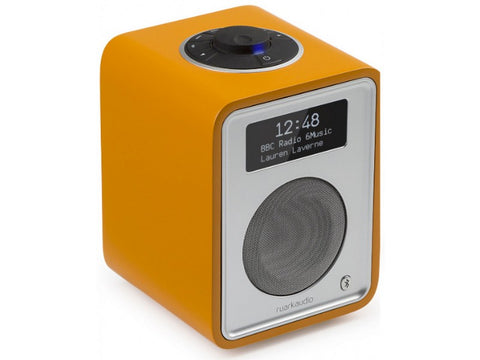R1 MkIII Deluxe Tabletop Radio Bluetooth Burnt Saffron