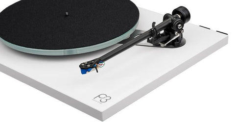 Planar 3 Turntable Gloss White with Factory Fitted Elys 2 Cartridge