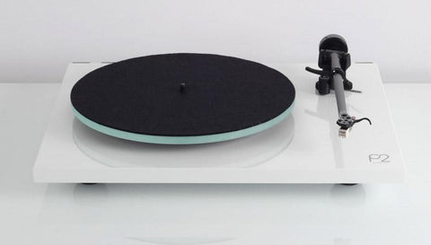 Planar 2 Turntable WHITE Performance Pack