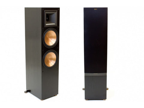 "RF-7 II Floorstanding Dual 10"" Tower Speaker Pair Reference Series Black"