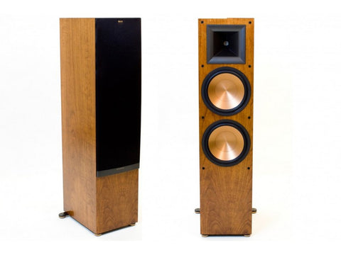 "RF-7 II Floorstanding Dual 10"" Tower Speaker Pair Reference Series Cherry"
