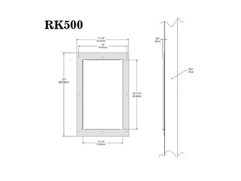 RK500 Rough-in Kit for WS500 Each