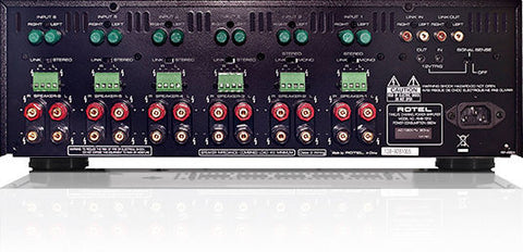 RMB 1512 Power Amplifier Black