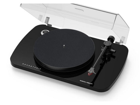 Roundtable S Turntable Black with 2M Red Cartridge