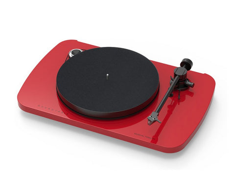 Roundtable S Turntable Red with 2M Red Cartridge