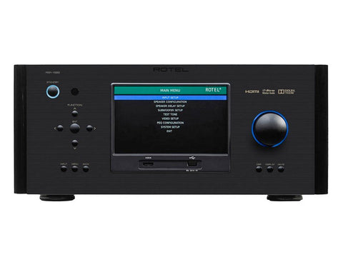 RSP-1582 Surround Sound Processor Black