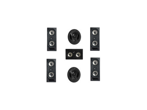 7-piece RT Vanishing Series Home Theatre Pack