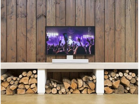 Adjustable TV Stand for SONOS BEAM White