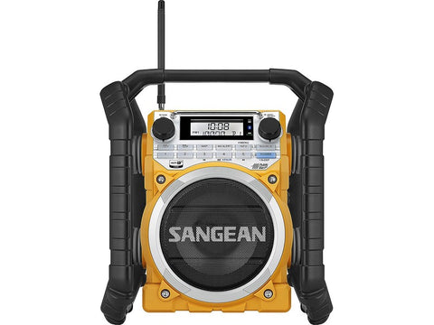 U4 AM/FM Ultra Rugged Rechargeable Digital Tuning Radio Yellow