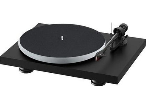 Debut Carbon Evo Acryl Turntable Satin Black with Ortofon 2M Red Cartridge