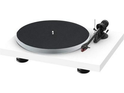 Debut Carbon Evo Acryl Turntable Satin White with Ortofon 2M Red Cartridge